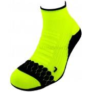 Socquette Running Néon Coolmax® Jaune Fluo