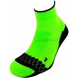 Socquette Running Néon Coolmax® Vert Fluo