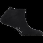 Mini-Socquettes Couleur Noires Unies En Coton De Fabrication Française