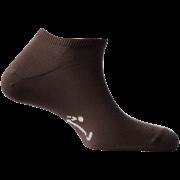 Mini-Socquettes Couleur Marron Foncé En Coton De Fabrication Française