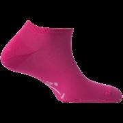 Mini-Socquettes Couleur Rose Fuchsia En Coton De Fabrication Française