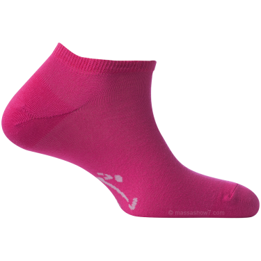 Mini-Socquettes Pour Homme Et Femme Rose Fuchsia