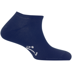 Mini-Socquettes Couleur Bleu Marine En Coton Fabriquées En France