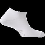 Mini-Socquettes Couleur Blanches En Coton De Fabrication Française