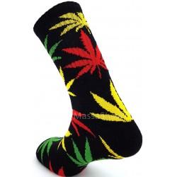 Box cadeau 2 paires de chaussettes motif chanvre