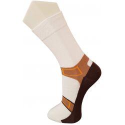 Chaussettes fantaisie thème sandales