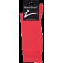 Mi-Chaussettes En Coton Massashow7 Rouge Vif