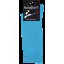 Mi-Chaussettes En Coton Massashow7 Bleu Turquoise