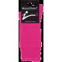 Mi-Chaussettes Massashow7 Bouclette Rose Fuchsia En Coton