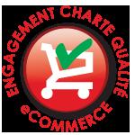 nous adhérons à la charte e-commerce qualité