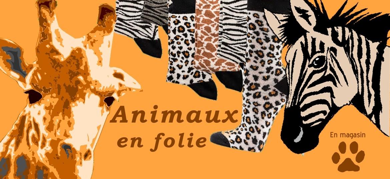 Des chaussettes Femme thème animaux